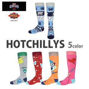 HOT CHILLYS (ホットチリーズ) フィエスタス ソックス キッズ 子供用 冬 スキー スノボ アウトドア 雪山 ノルディック 靴下