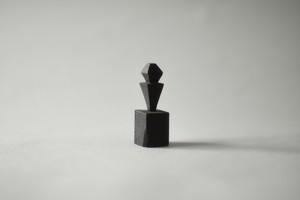 (084)wood figure-mini抽象台付_021
