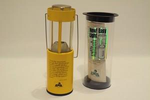 USED 80s EMS×UCO Candle Lantern -Yellow 01068