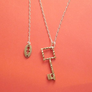 【T】Initial Key-Necklace