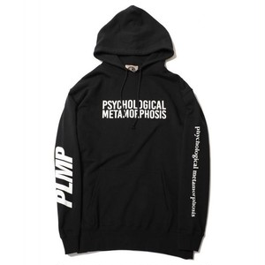 PSYCHOLOGICAL METAMORPHOSIS PMLP PARKA LOGO ( BLACK) / PLMP-17-8