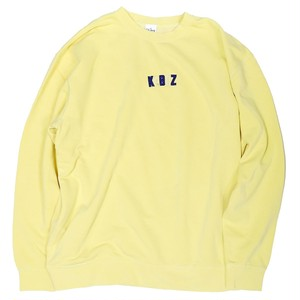 YELLOW 9oz PD KBZ CREWNECK