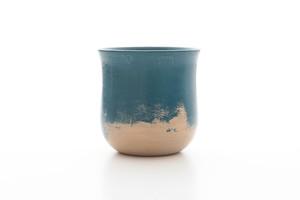 碧色漆塗り 湯呑みカップ