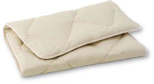 D 暖かい・蒸れない・へたらないベッドパッド ダブル(キャメルヘアー)