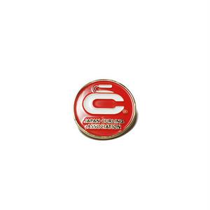 日本カーリング協会オフィシャル ピンバッチ