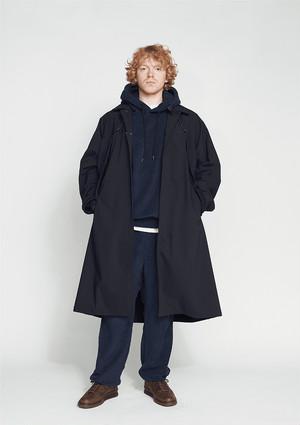 【O-】レイチョウルイラボ SOFTSHELL OVER COAT / BLACK