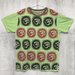 【送料無料 / アジアン エスニック Tシャツ】  Men's T-shirts M | メンズ Tシャツ M #001