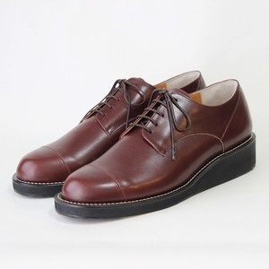 steer blucher shoes/BLK,BRW/l.o.b【受注生産】