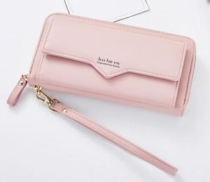 レディース長財布 7色 PU 韓国風 財布 カード入れ 小銭入れ 普段使い