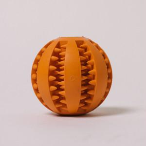 DOGGY BRO.(ドギーブロ) 天然ゴム歯磨きボール【オレンジ/Mサイズ】