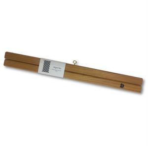 木製 タペストリー棒 tape-bo 限定品 欅(けやき)