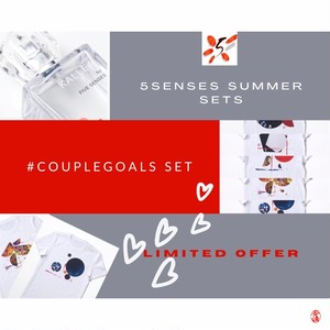 5 SENSES SUMMER SETS #couplegoals (incl.tax)