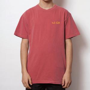 red cloth ロゴワンポイント