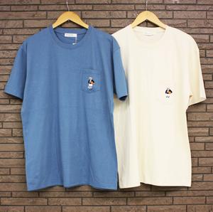 Revolution《ポケットくま刺繍ビッグTシャツ》2色☆