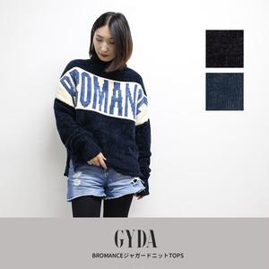 GYDA | BROMANCEジャガードニット TOPS  071852610601
