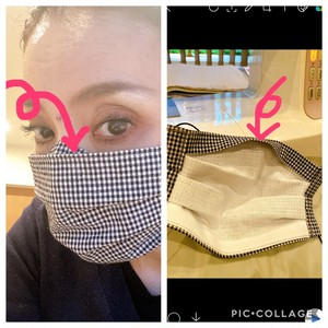高木の手作りマスク