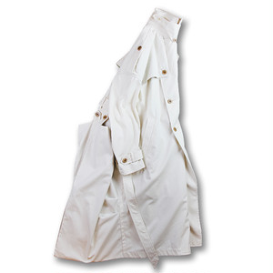 Convertible trench coat [White]