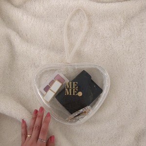 MEME original clear Heart bag