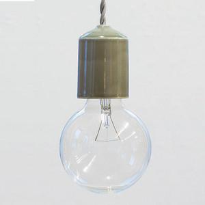 Socket Lamp Gray|陶器 グレー