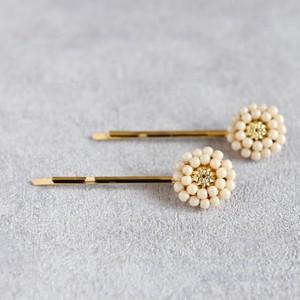 【ヘアピン】アンティークレトロなお花