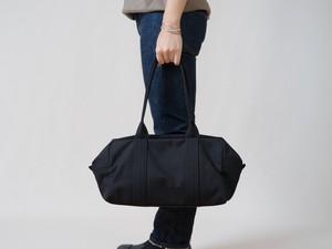【受注製作】帆布のボストンバッグS ブラック