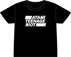 大きなサイズ【限定オリジナル】ATAMI TEENAGE RIOT Tシャツ【熱海ハウスx奈良光工房コラボ】