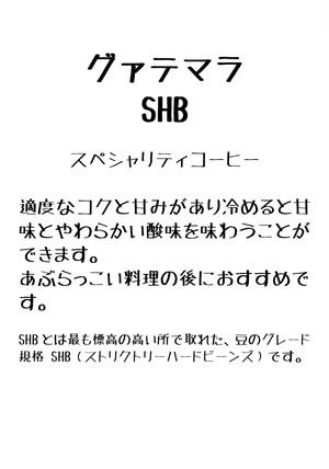 グァテマラ・SHB 100g