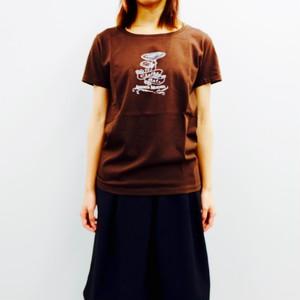 T-shirt (Amanita Muscaria)  /  chocolate