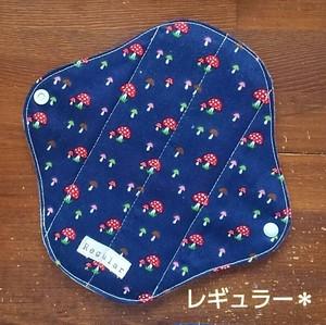 布ナプキン (レギュラー) ☆ キノコ柄