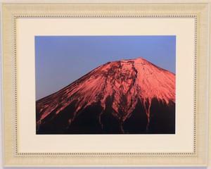 赤富士 富士山写真<A3サイズ>オリジナル額