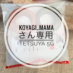 【koyagi_mamaさん専用ページ】追加分ヨーロッパのオーガニックリネン5gセット(TETSUYA)