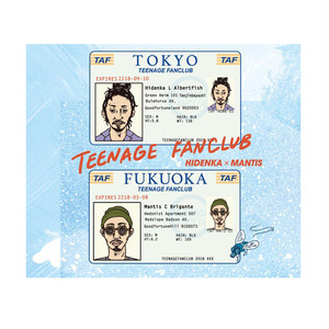 HIDENKA × MANTIS - TEENAGE FANCLUB [CD]