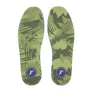 FP INSOLE HI PROFILE KING FOAM INSOLES YELLOW CAMO 3 mm