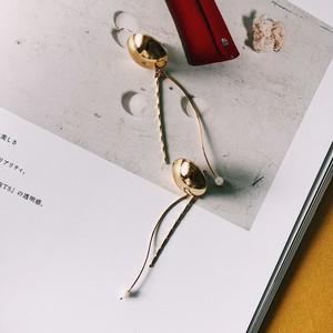 デザイナーズピアスPremière _Gold