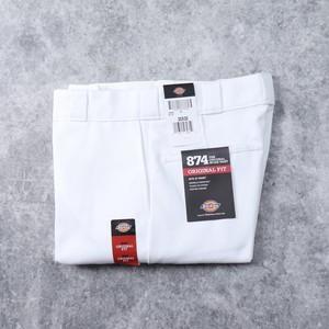 """ Dickies ""  874【White】Original  Fit ディッキーズ ワークパンツ ホワイト 新品"