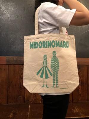 MIDORINOMARU MASKMAN Tote-BAG(M)