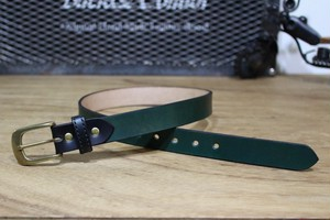 """Color Garrison Belt Nallow"" Green"
