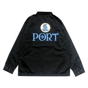 PORT OKINAWA COACH JACKET コーチジャケット ポートオキナワ ブラック