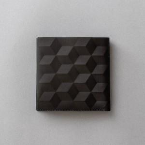 HEXAGON PATTERN WALLE / M size / Color : black