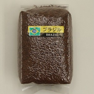 【コーヒー豆定期便】 ブラジル 粗挽き 200g