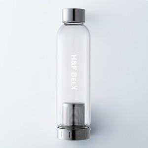 ガラスタンブラー(M 550ml)-茶こし付き水筒-