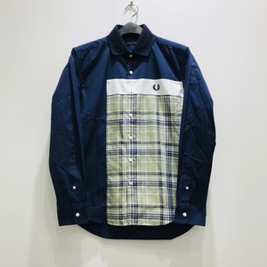 FRED PERRY : Mix Panelled Shirt