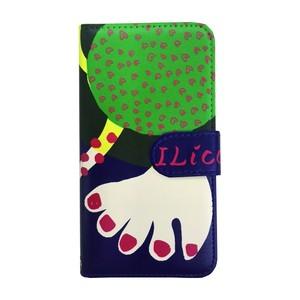 """スマホケース オーダーメイド 「あなたとわたし」 パネル柄 カードタイプ    smartphone case notebook type """"you and I"""""""
