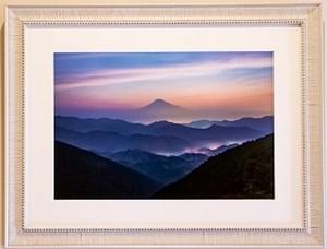 吉原の魅力 富士山写真 <A3ノビサイズ> オリジナル額