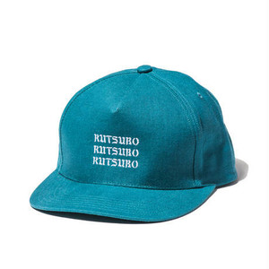 [ 坩堝 ]  CANVAS REPEAT SNAPBACK CAP
