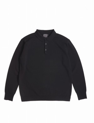Knitted Polo in Smooth Stitch