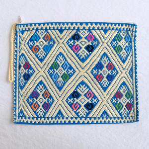 ララインサールの手織りポーチ /227b/ MEXICO メキシコ