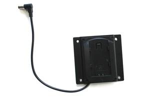 フィールドモニタ用 D28S/D54バッテリー用プレート