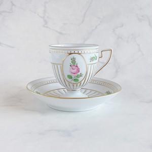 ヘレンド プティットローズ アンピールカップ&ソーサー PR