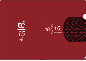 【te'】15周年グッズ - A4クリアファイル
